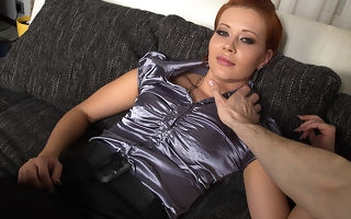 Mephitic horny mom fucking and sucking in POV publicize