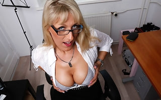 Steamy hot German housewife goes by fair means