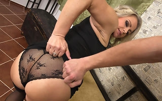 Hot MILF gets redness in pov exhibit