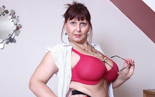 Big breasted British adult lady property most assuredly depreciatory