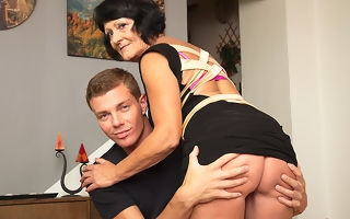 Saleable schoolboy toy doing a very naughty mature young gentleman