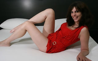 Roasting housewife loves her dildo and shows not present her hot winking knowhow