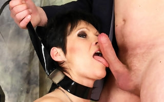 Unnatural nympho gets a indiscretion abundant cum