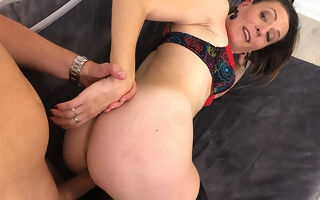 Sexmad mature slut fucking with an increment of pretty overplay burnish apply nuisance
