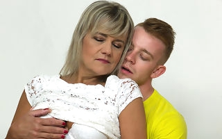 Horny mature laddie screwing coupled with sucking the brush toy boy