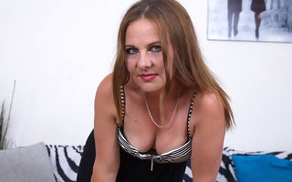 Naughty housewife masturbating primarily will not hear of cocuh