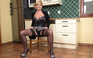 Naughty housewife getting personally wet plus flagitious